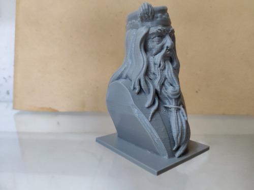 dumbledore impresa en 3d