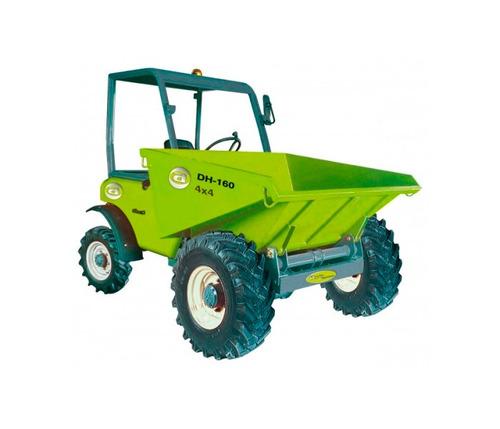 dumper volquete agria dh160 4x4 de 1.6 toneladas motorman