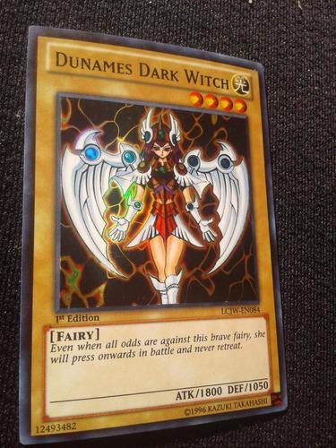 dunames dark witch lcjw-en084 1st yugioh