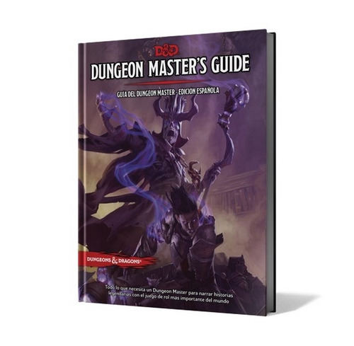 dungeons and dragons 5ta edición set 4 libros en español dnd