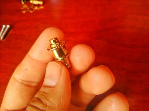 dunlop straplock (pin de seguridad correa de guitarra/bajo)