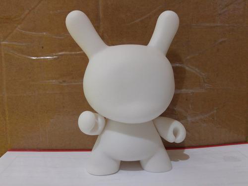 dunny toy art diy branco