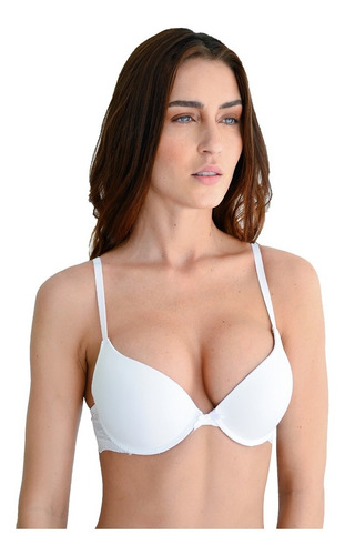duo 2 brassieres lenceria linea adda lux doble push-up lujo