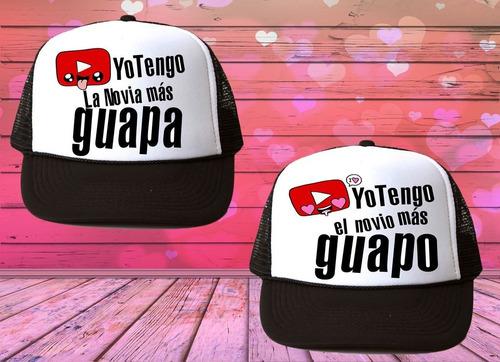 duo gorras pareja novios mr mrs 14 febrero amor 30