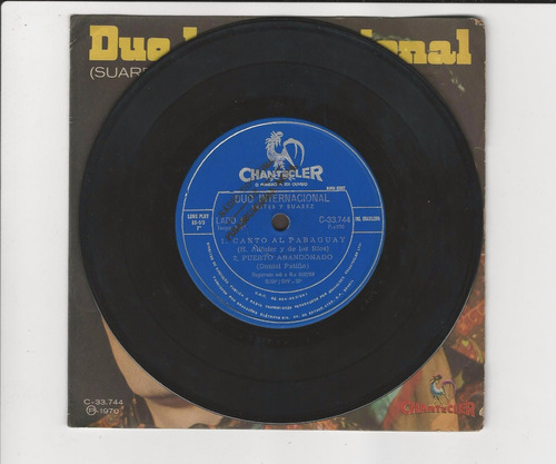 duo internacional 1970 canto al paraguay - compacto ep 14