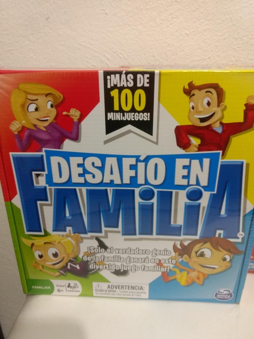 Duo Juegos De Mesa Basta De Hasbro Y Desafio En Familia Spin