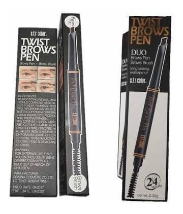duo pen/brush marcador de cejas