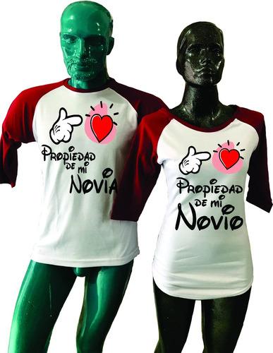 duo playeras ranglan amor pareja novios love mickey mouse 3