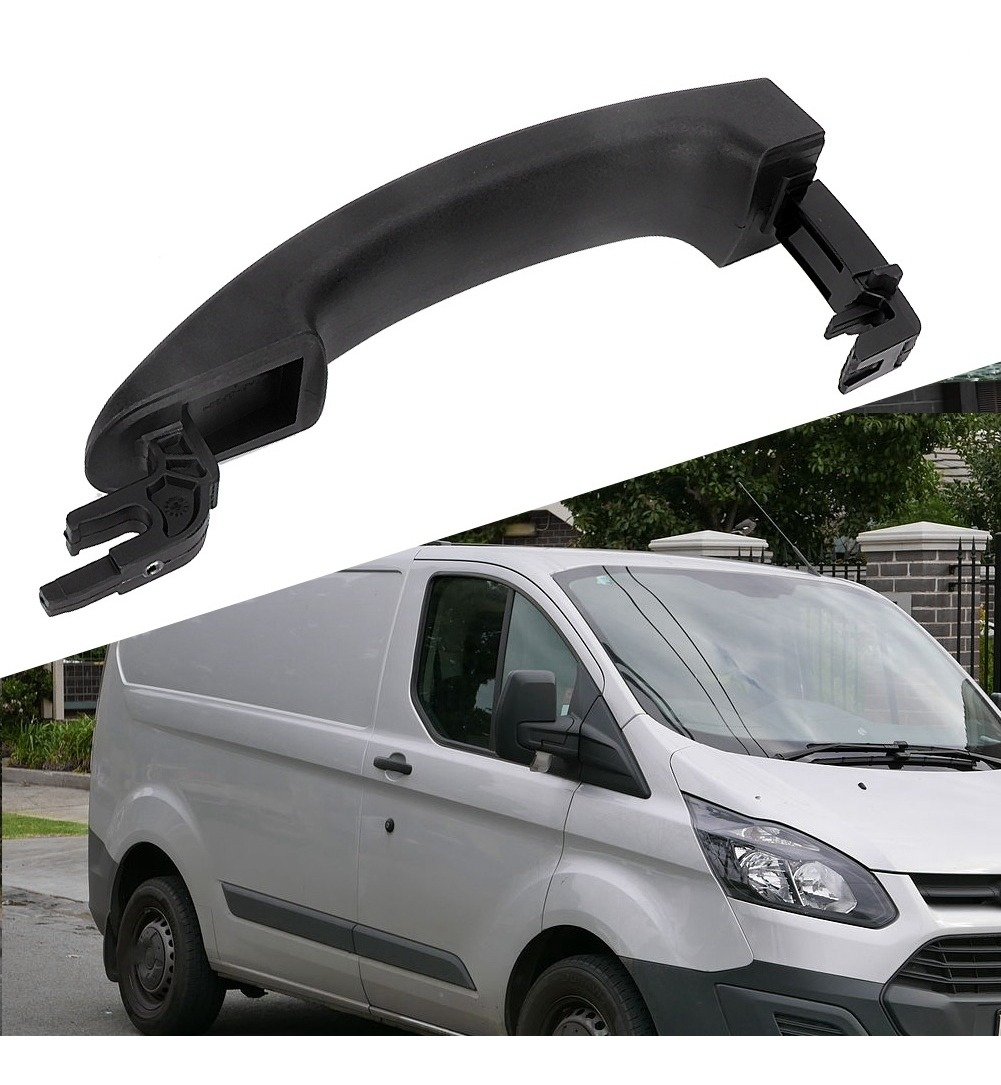 la manija de la puerta del autom/óvil se adapta a Atos 1997-2008 82650-25000 la manija de la puerta negra delantera izquierda exterior Duokon La manija de la puerta delantera izquierda del autom/óvil