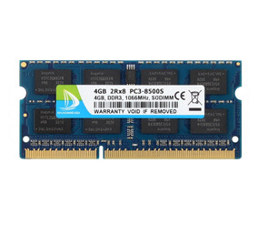 8GB 2x4GB PC3-8500S DDR3 1066 Mhz 204pin SO-DIMM CL7 RAM For Acer Aspire 5738G