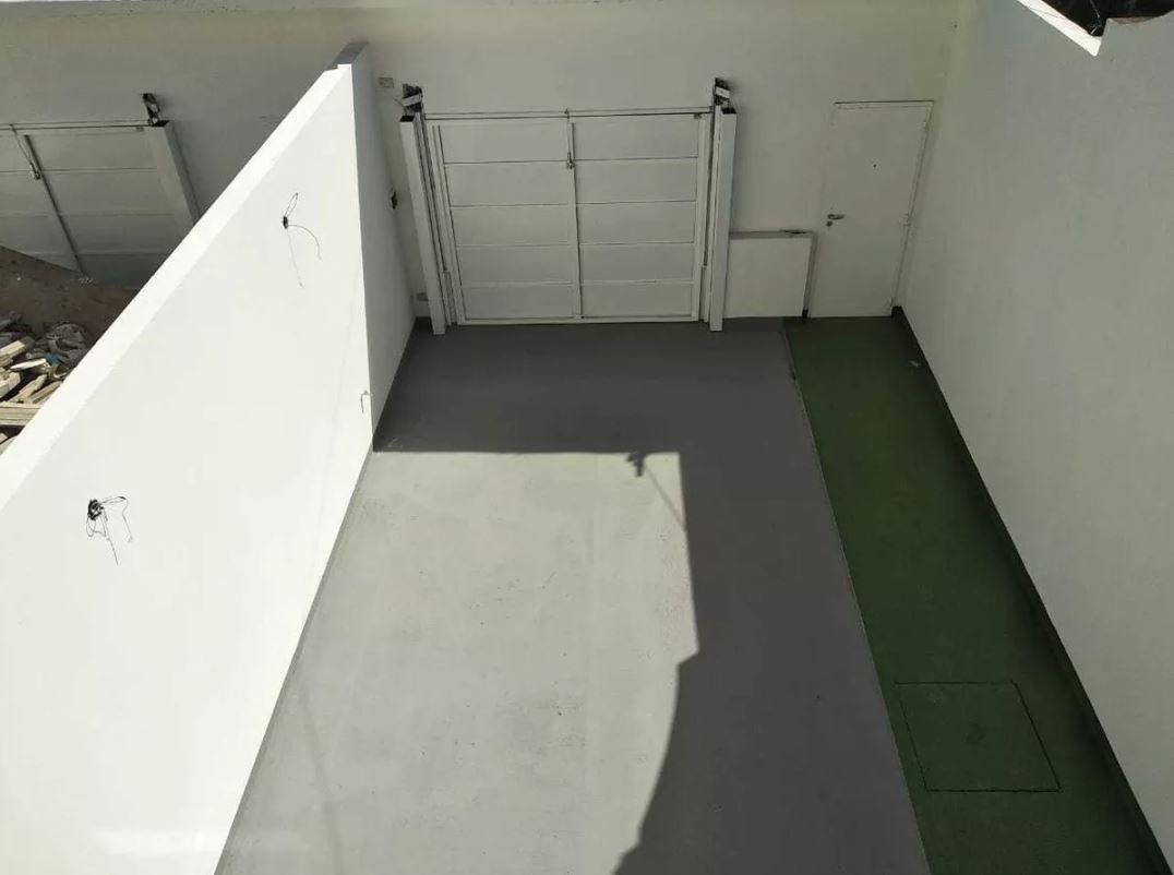 duplex 2 dormitorios, 2 baños y cochera -lote 150 mts 2 -100 mts 2 cubiertos-estrenar - los hornos