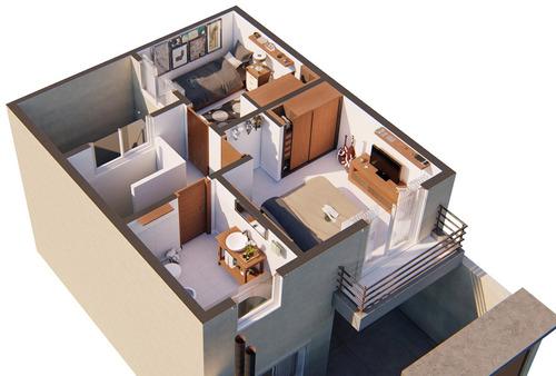 duplex 2 dormitorios en monte grande