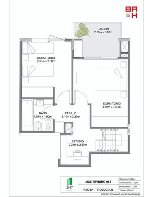 dúplex 3 amb con terraza. piso alto. recoleta