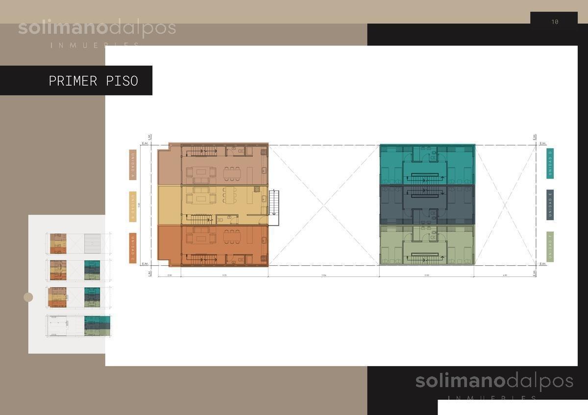 duplex 3 amb con terraza propia - olivos