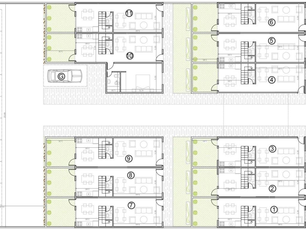 duplex 3 ambientes c/ cochera // pozo // financiacion // haedo
