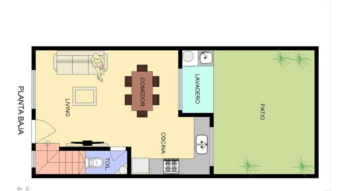 duplex a estrenar :: 3 ambientes :: ituzaingo norte