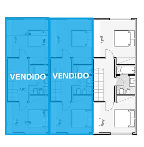 duplex a estrenar :: 3 ambientes :: udaondo
