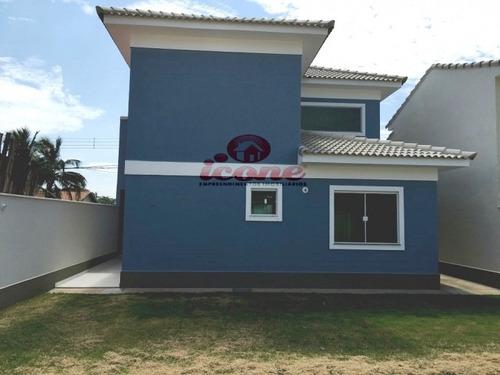 duplex com 3 quartos, 2 suítes, churrasqueira, itaipuaçu - 488