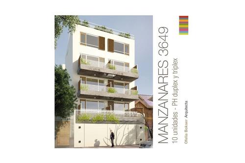 duplex con balcon terraza doble altura  !!