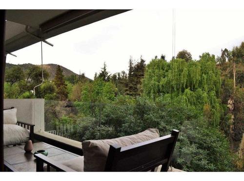 duplex con jardin propio / vista a parque / robles / la dehesa / colegio los alerces