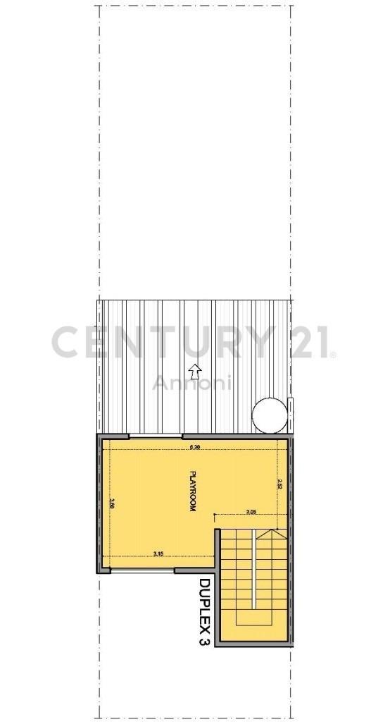 duplex de 3 ambientes  en olivos