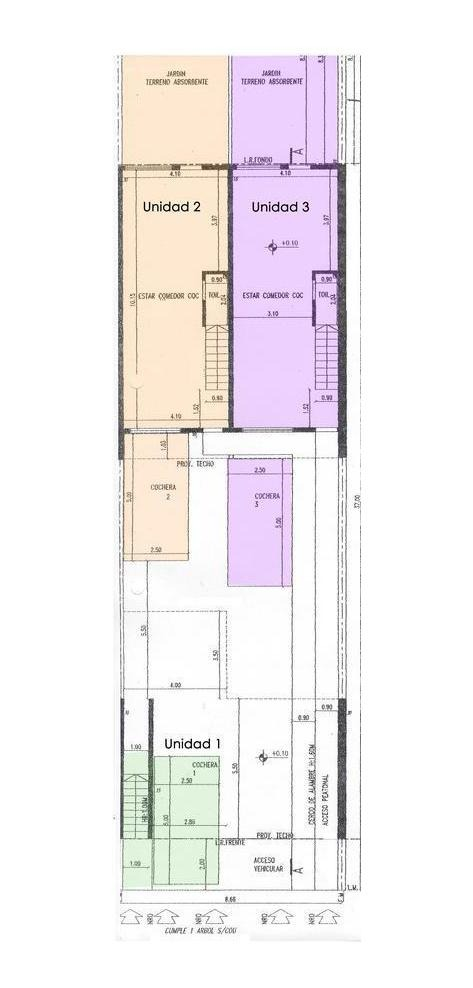 duplex de 4 amb con patio y cochera - munro