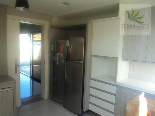 duplex de luxo em condomínio fechado. - ca0537