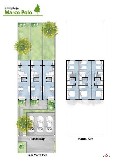 duplex de tres ambientes en venta, en ituzaingo. con patio y cochera.
