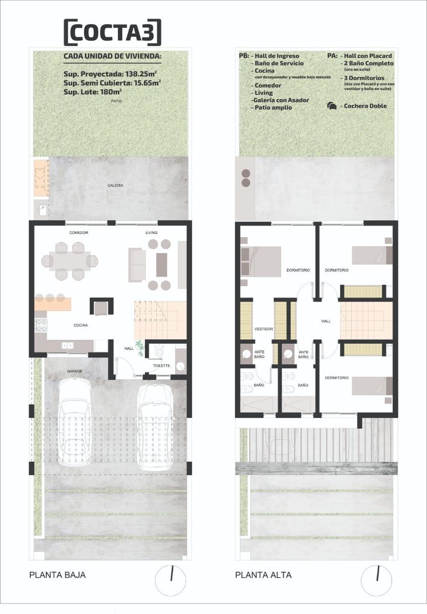 duplex docta - 3 dormitorios (categoria)