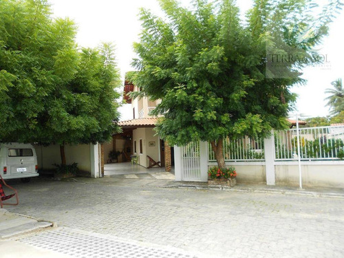 duplex em condomínio fechado no centro do eusébio. - ca0670