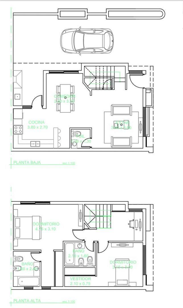 duplex en construccion zona castelar mod 2