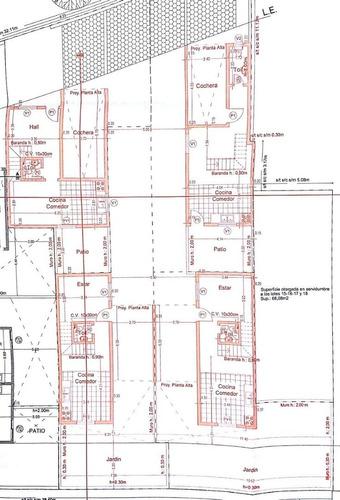 duplex en venta   b° palma de claret  ( en construccion )