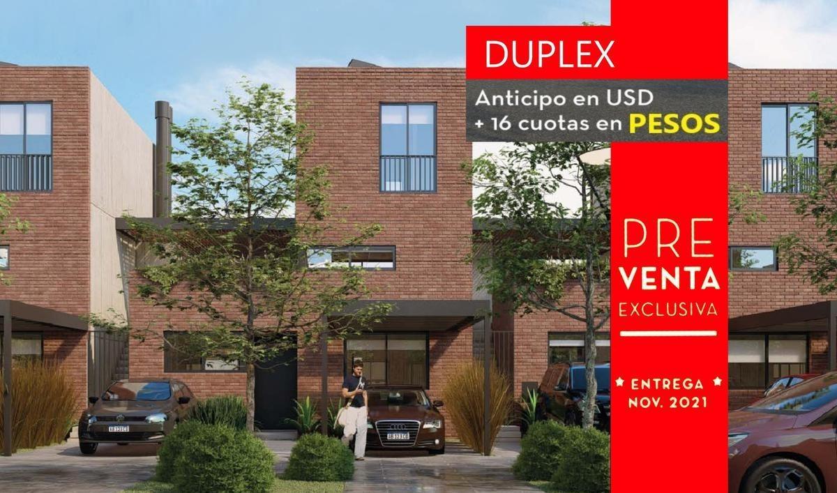 dúplex | en venta | santa  ana joven | proyecto | 2 dormitorios | 3 ambientes | eidicasas | cuotas en pesos | financiación | sin expensas |villa nueva | buen acceso |tigre