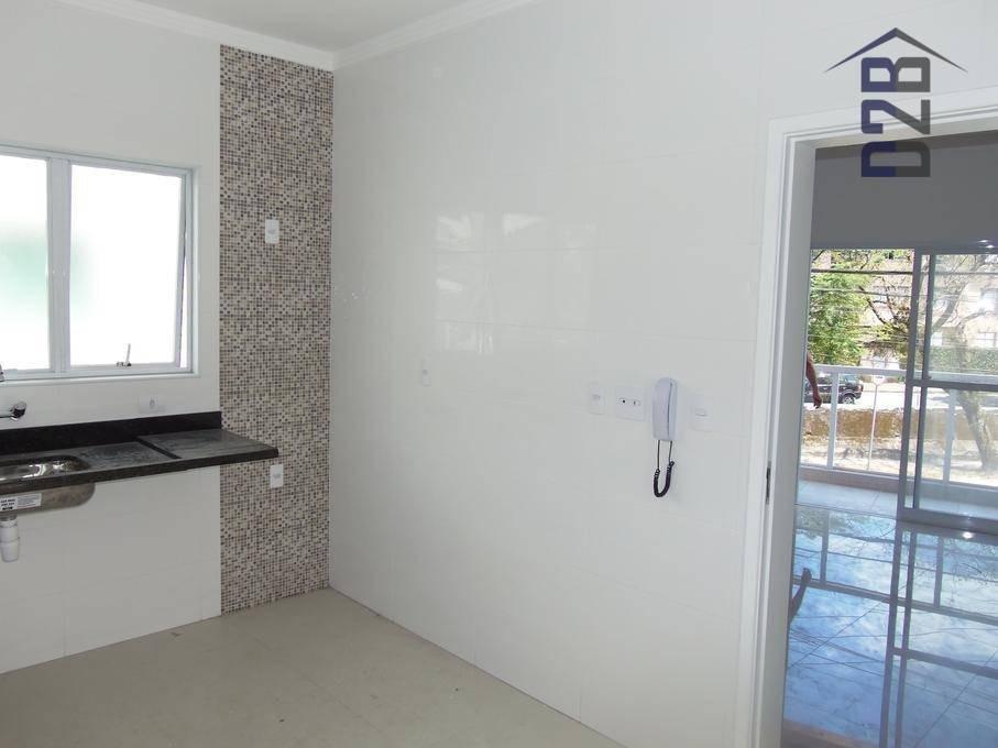 duplex frente 2 dormitórios à venda - r$ 570.000 - macuco - santos - sp - ca0065