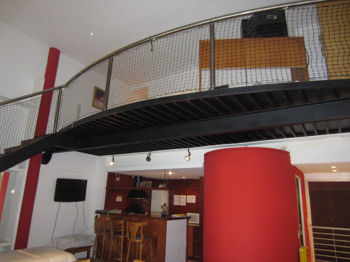duplex loft con parrilla/precio x dia 1 / 2 per.+  consultar