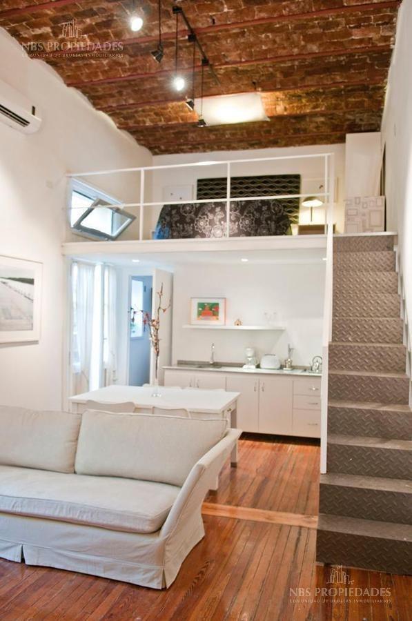 duplex tipo loft, palermo hollywood, temporario