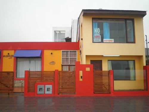 duplex y casa frente al mar.