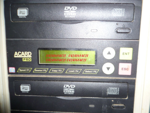 duplicadora ,quemadora cd, dvd