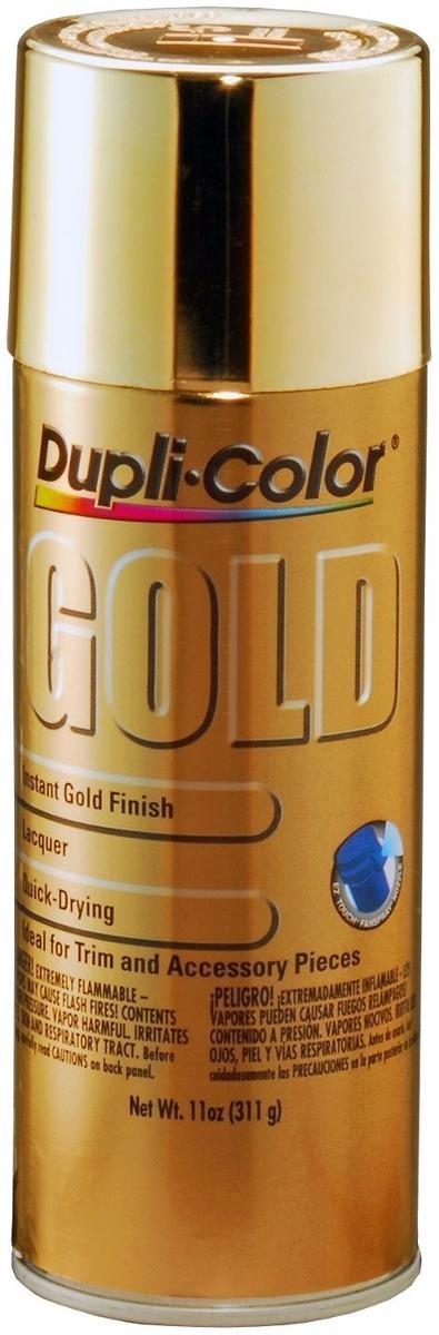 Duplicolor pintura color cromo y oro aplicala directa - Pintura color oro ...