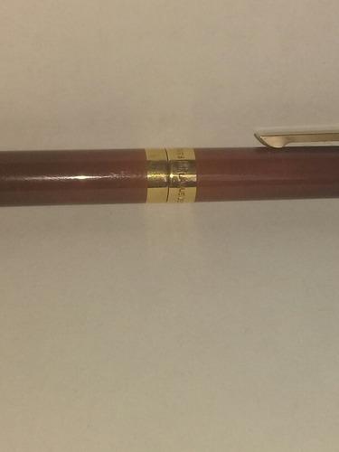 dupont pluma bolígrafo chapeado en oro 20micras y laca china