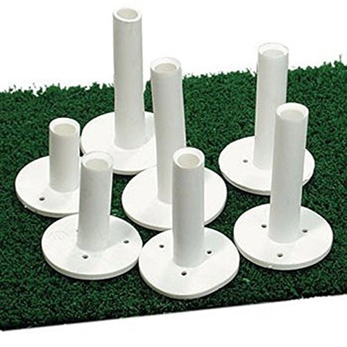 dura rubber golf tee 2 '' (5 pack)