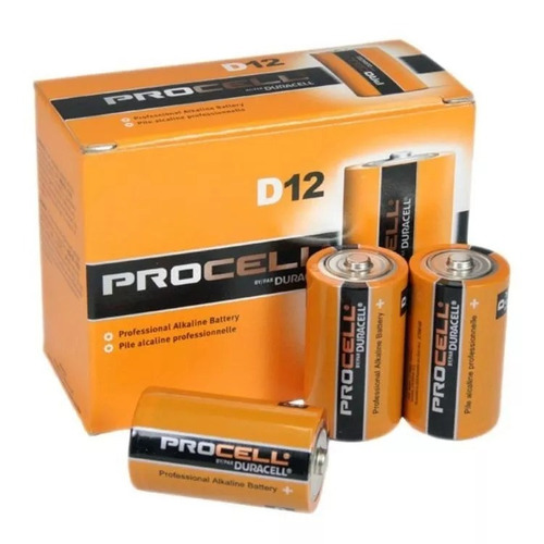 duracell d12 procell batería alcalina profesional,entrega ya