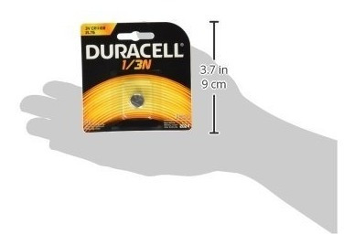 duracell dl1/3n cr1/3n 3v litio batería 3- envío gratis