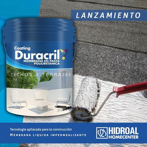 duracril membrana liquida poliuretanica techos 20 kg