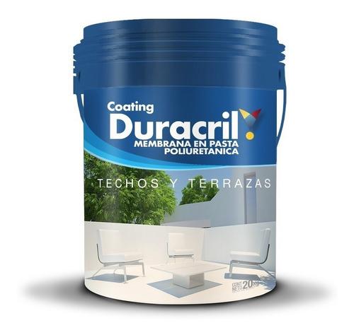 duracril membrana liquida poliuretanica techos 20 kg premium
