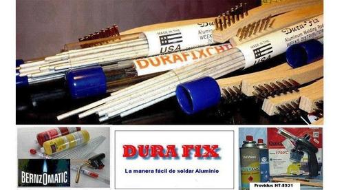 durafix,soldadura para aluminio