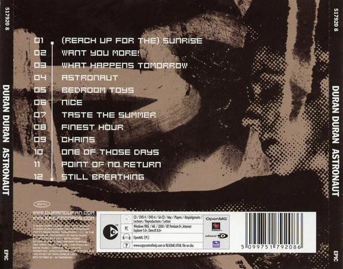 duran duran - astronaut cd nuevo cerrado