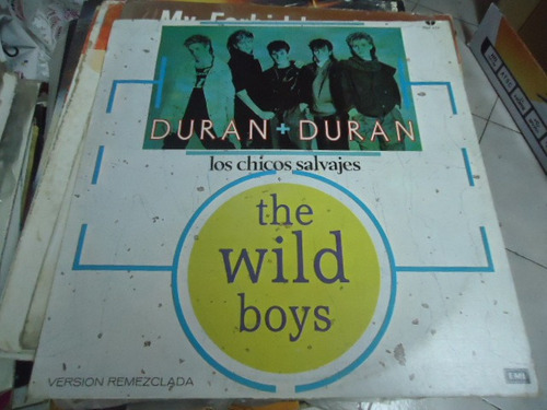 duran duran disco ep de 12 los chicos salvages the wild boys