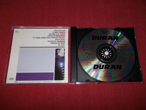 duran duran - homonimo cd imp ed 1990 mdisk