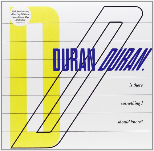 duran duran is there something i should know vinilo limitado